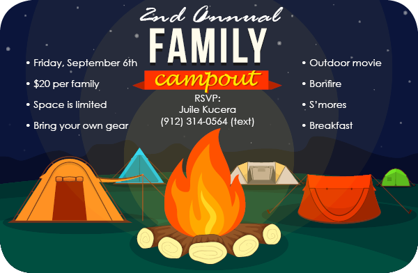 Family Camp-Out
